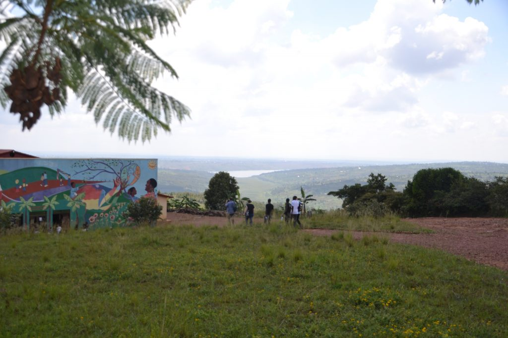 """go far, see far"" is the motto of Agahozo Shalom Youth Village … even the geographic location was chosen upon this idea."